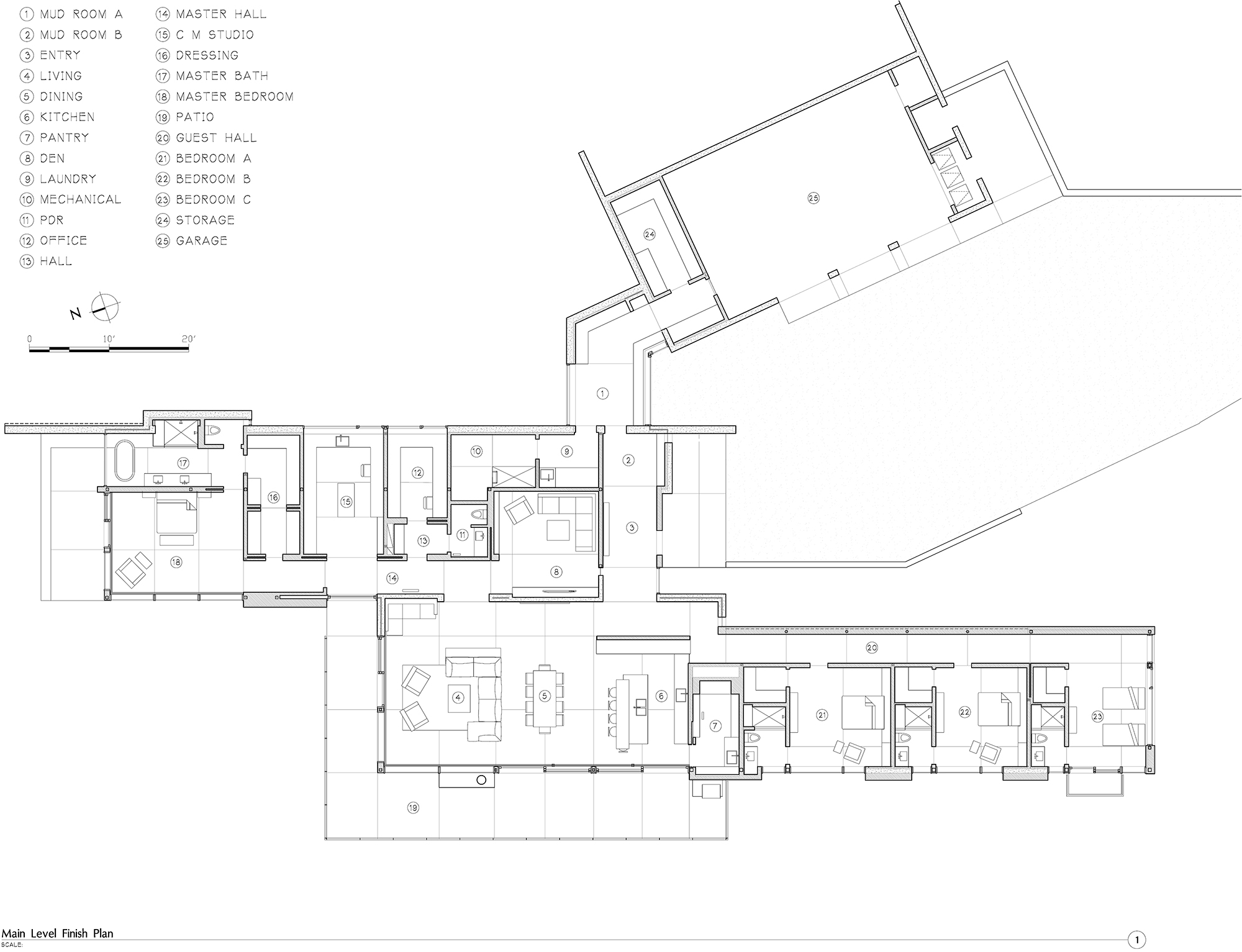 Finish Floor Plan with Furniture  }
