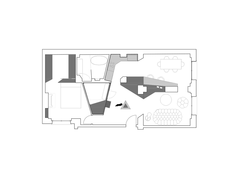 Mezzanine plan }