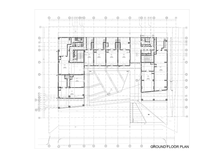 GROUND FLOOR PLAN Studio Vertebra}