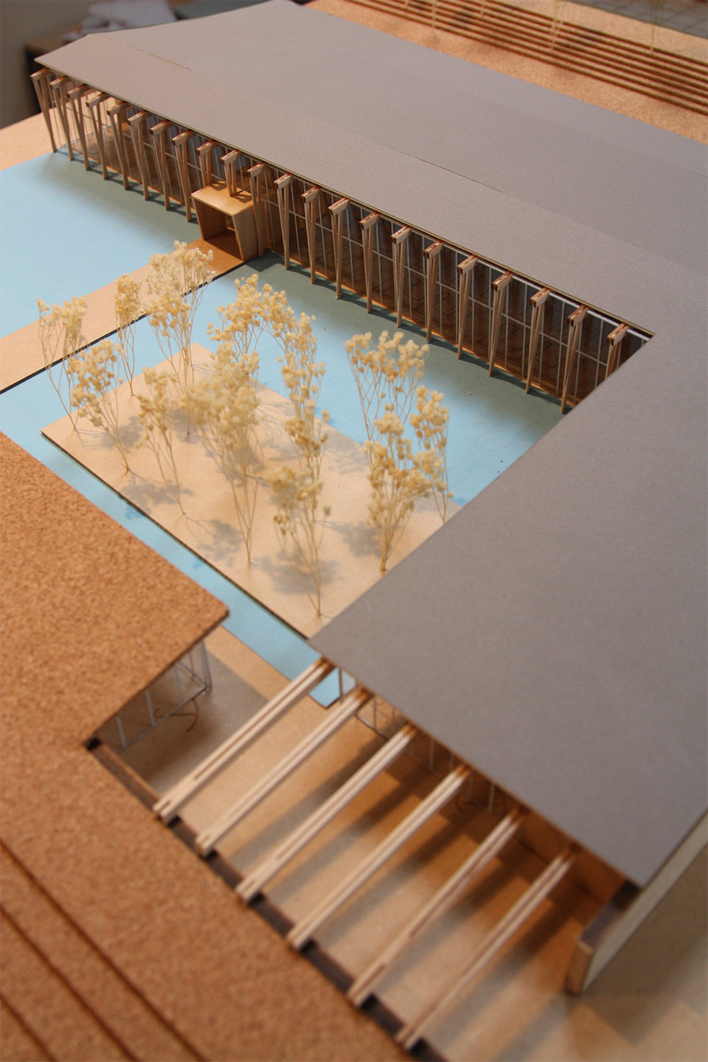 Building model detail Graham Baba Architects}