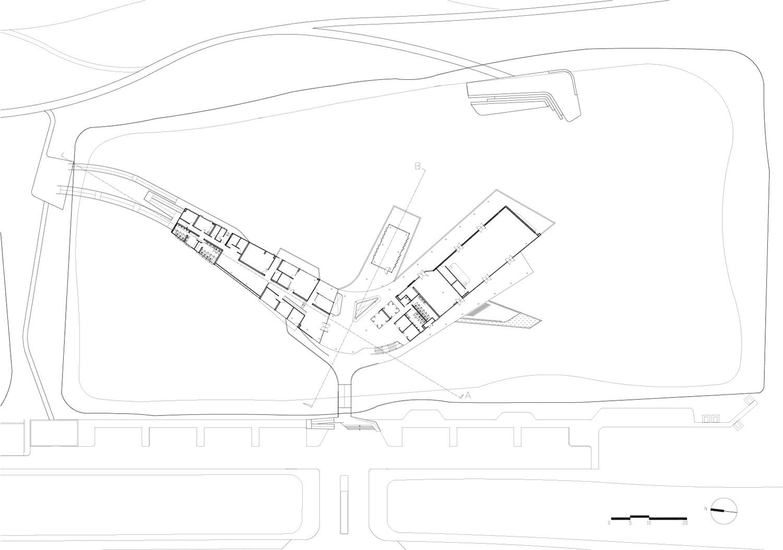 Ground floor plan Vaslab}