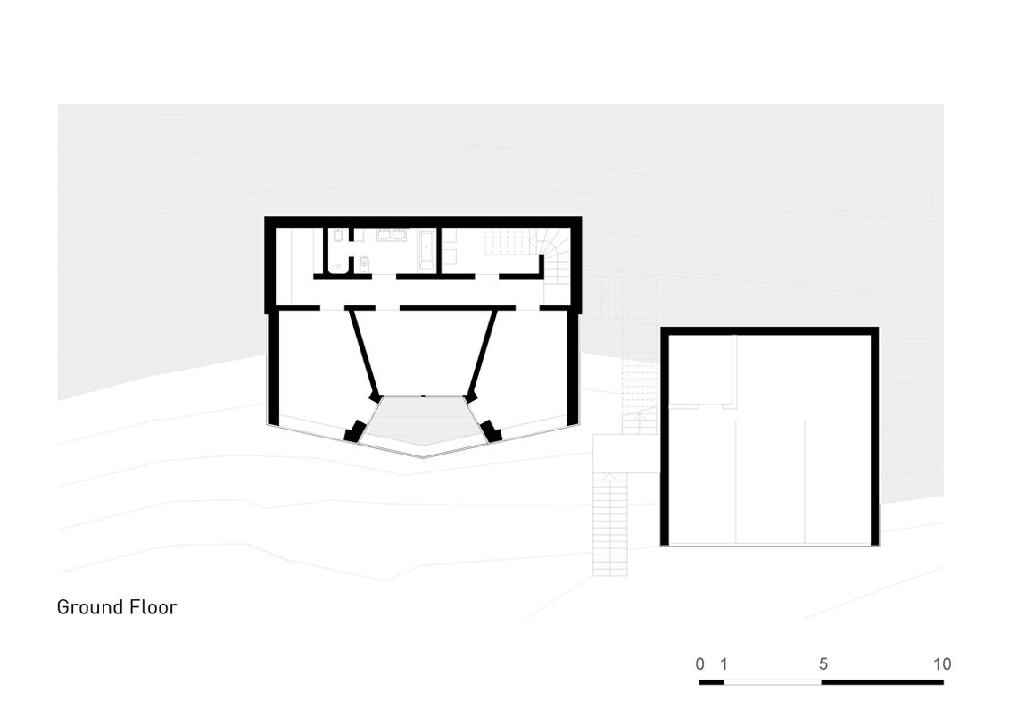 Plan Layout / Ground Floor Plan }