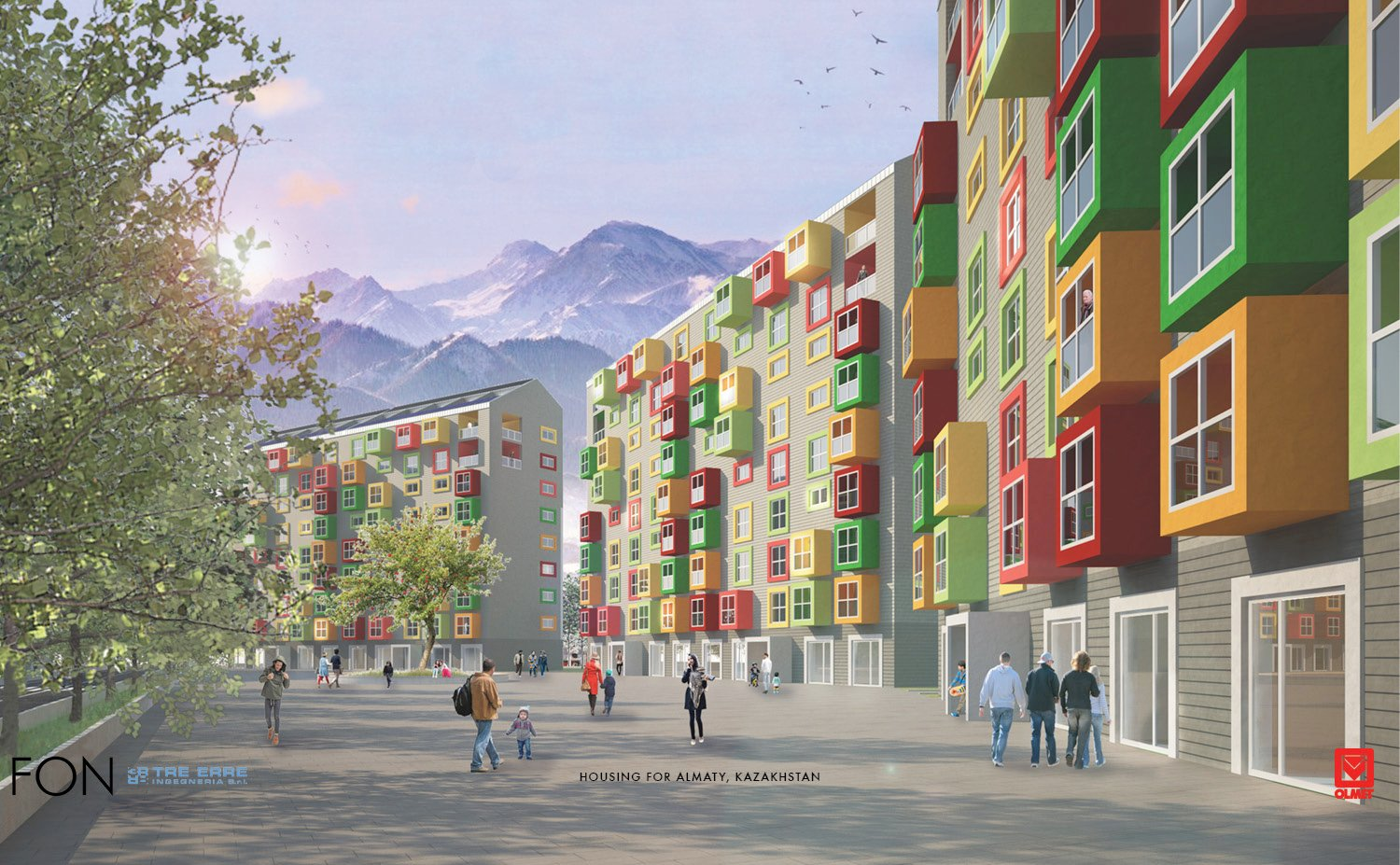 HOUSING FOR ALMATY-FON-01