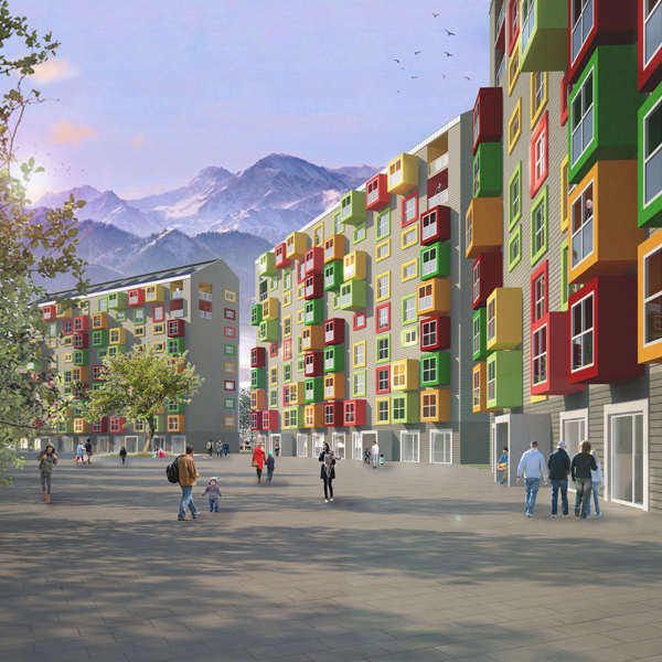HOUSING FOR ALMATY - ALMATY KAZAKHSTAN