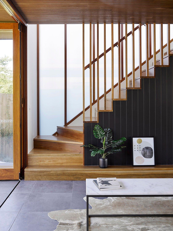Internal stair detail - House D