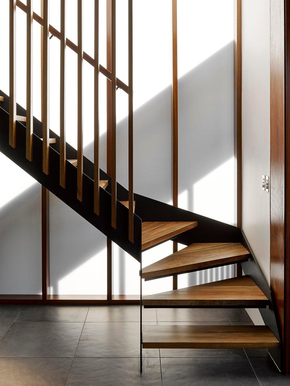 Internal stair detail - House B
