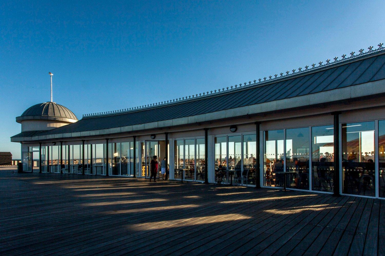 Hastings Pier Renovated Pavilion