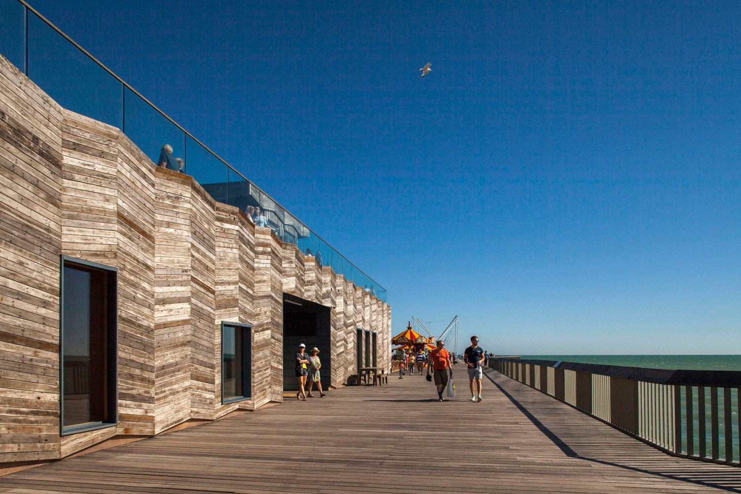 Hastings Pier Visitor Centre Exterior