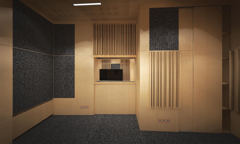 Studio rendering }