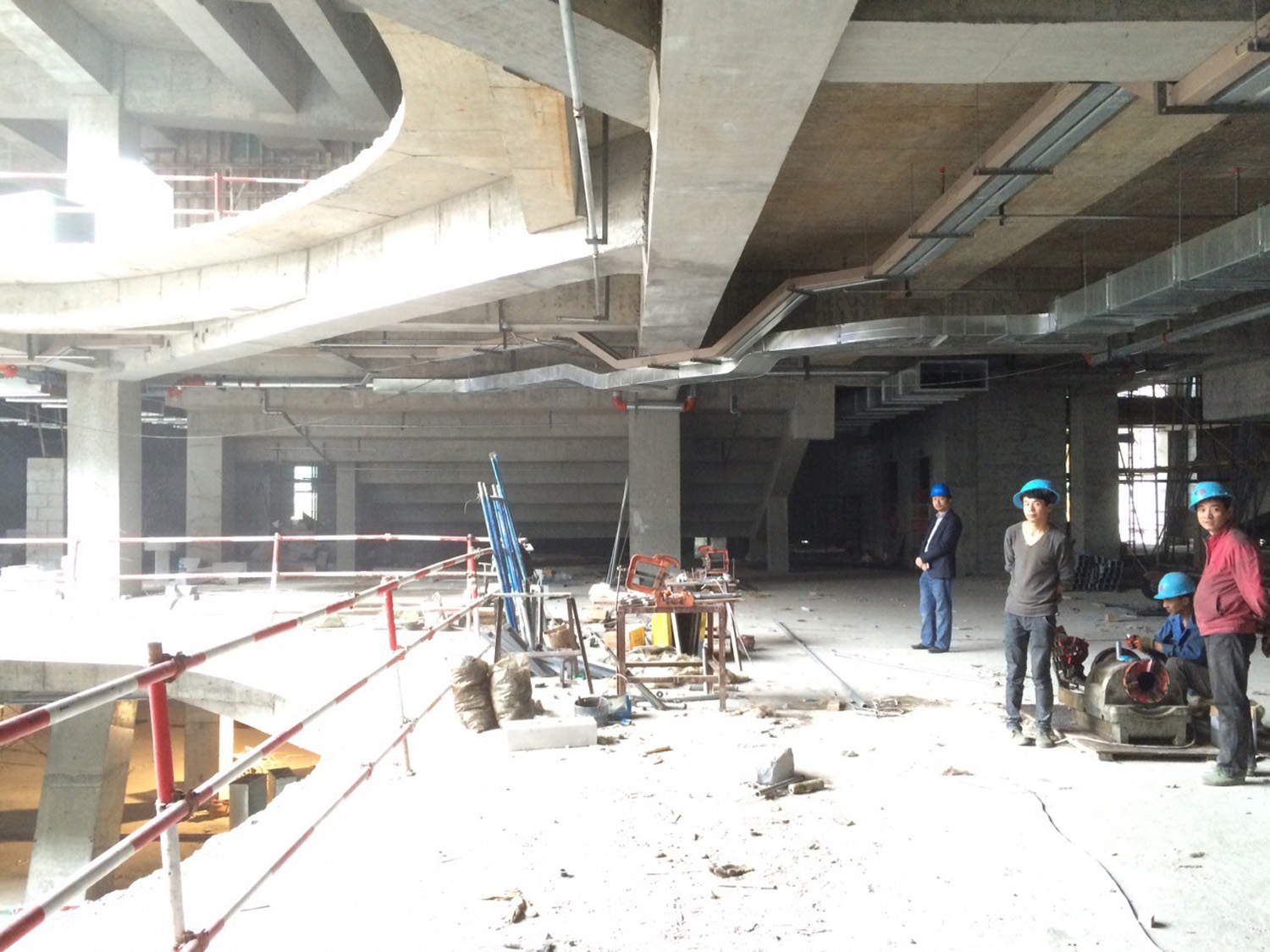 Hangzhou Kerry Centre Premiere Cinemas under construction