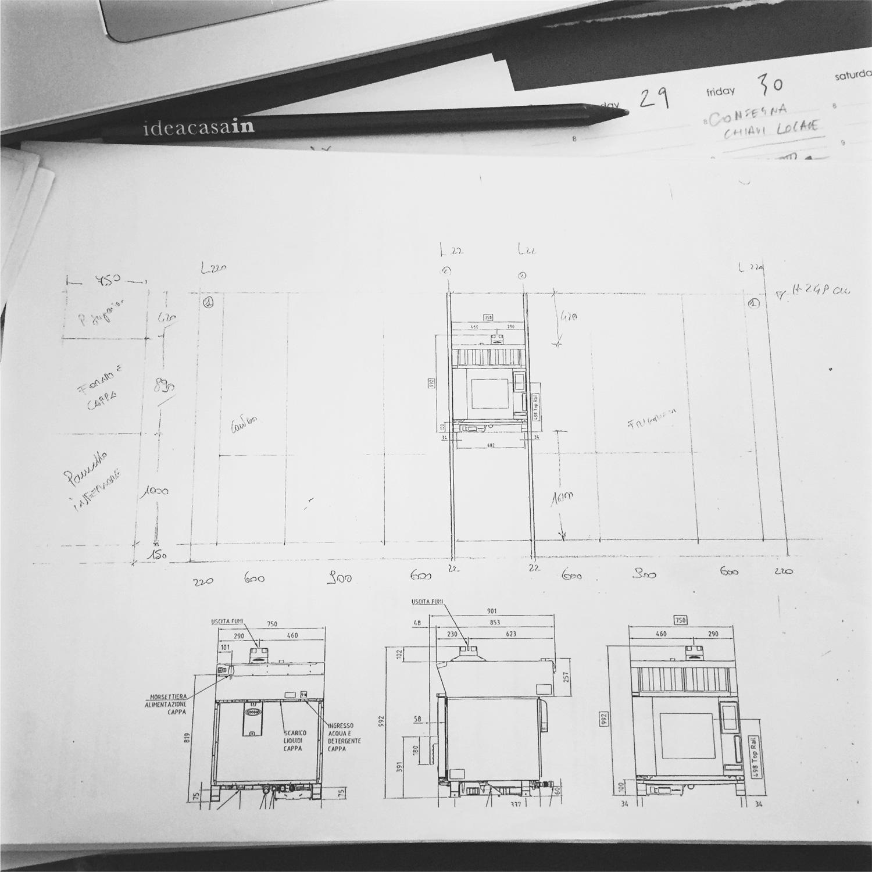Dettaglio progetto - Open-Bright-Kitchen | Arch. Roberto Destro | Ideacasain Studio Maat