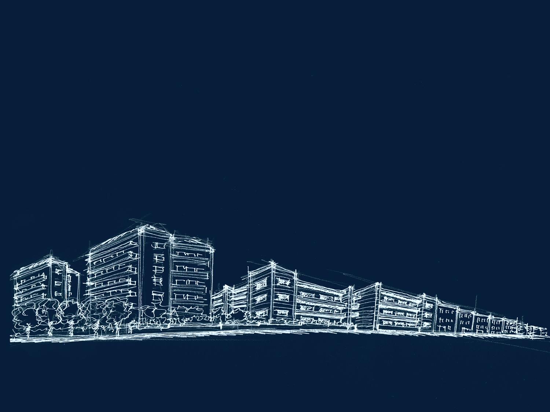 Concept - Inserimento architettonico su strada }