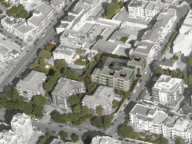 Vista aerea dalla strada dei Giardini di Fedro