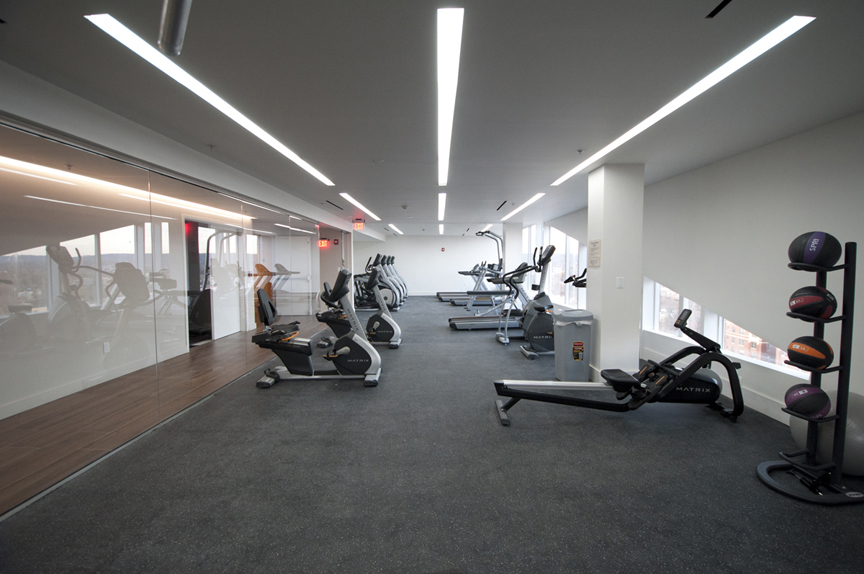 Gym View Jin Chen