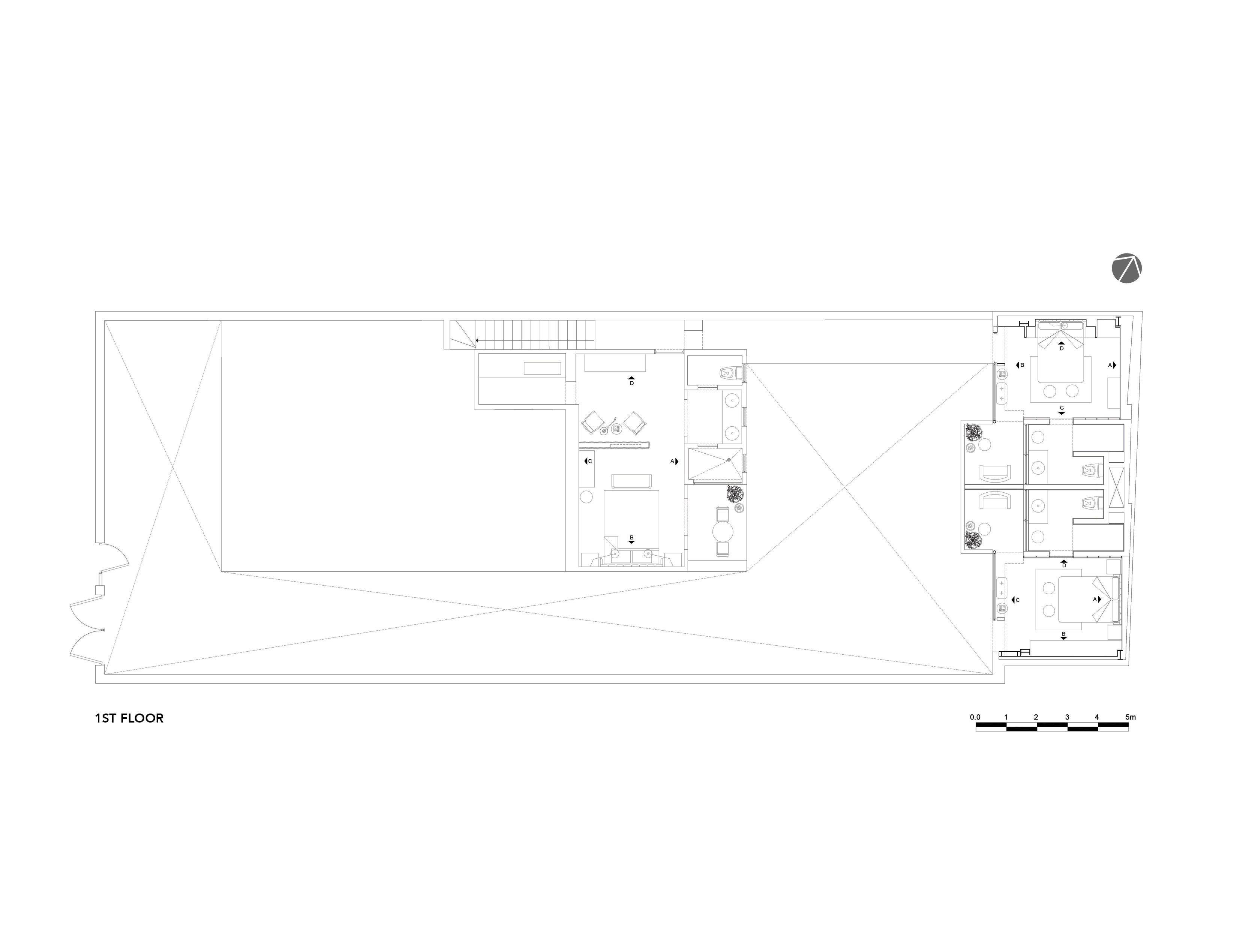1st Floor Plan Factor Eficiencia}