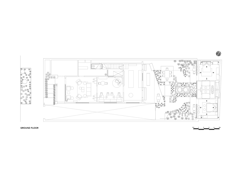 Ground Floor Plan Factor Eficiencia}