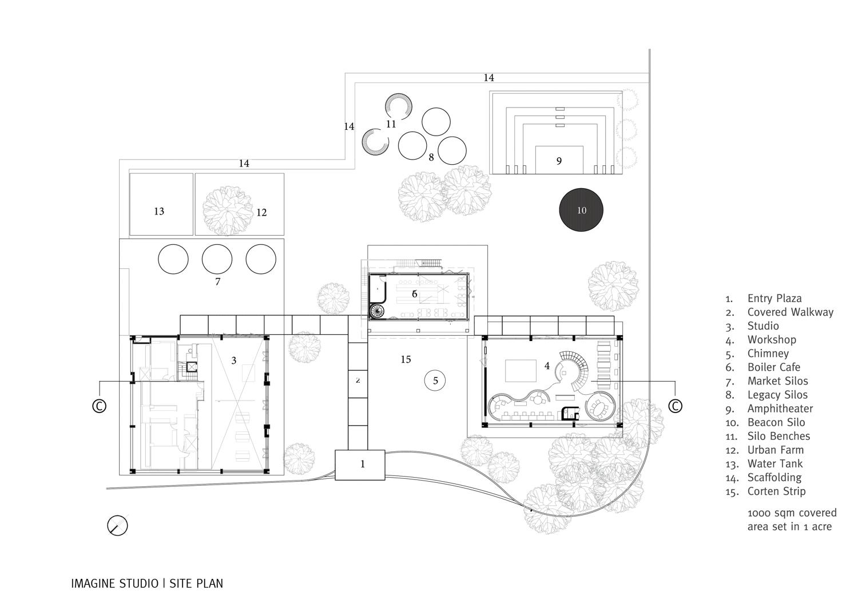 Imagine Studio at The Trees - Site Plan Studio Lotus}
