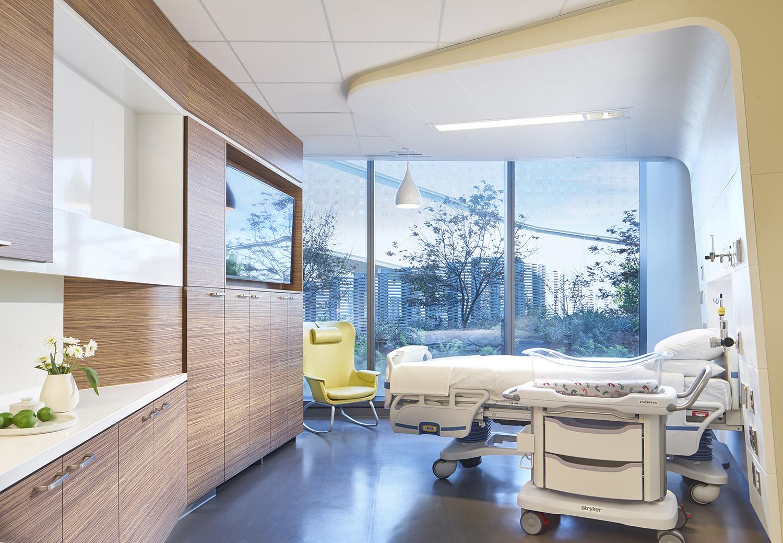 Patient room Christopher Barrett