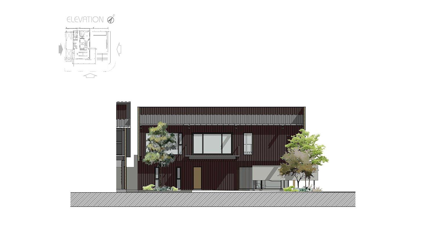 Elevation Chain10 Architecture & Interior Design Institute}