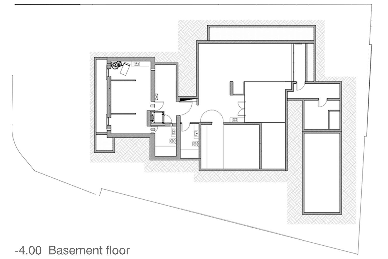 basement Ariel Isaac Franco Architecture Studio }