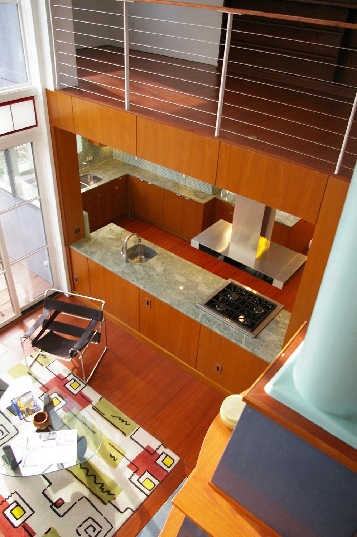Kitchen View from 2nd Floor Nichols Design Associates, Inc.