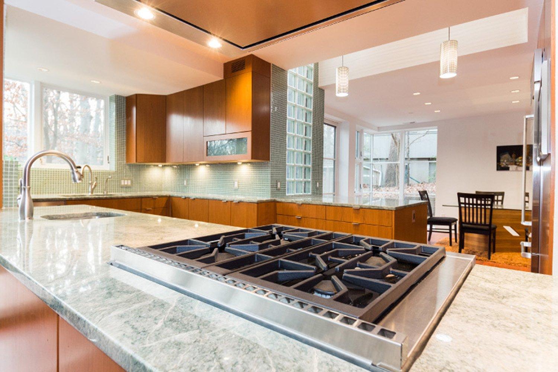 Kitchen-Countertop-Range Nichols Design Associates,Inc.