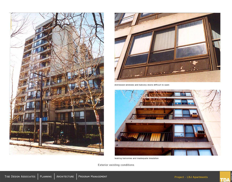 Existing exterior images (pre-renovations) Tise Design Associates