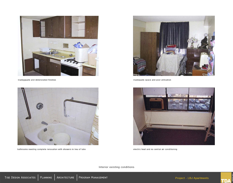 Existing interior images (pre-renovations) Tise Design Associates