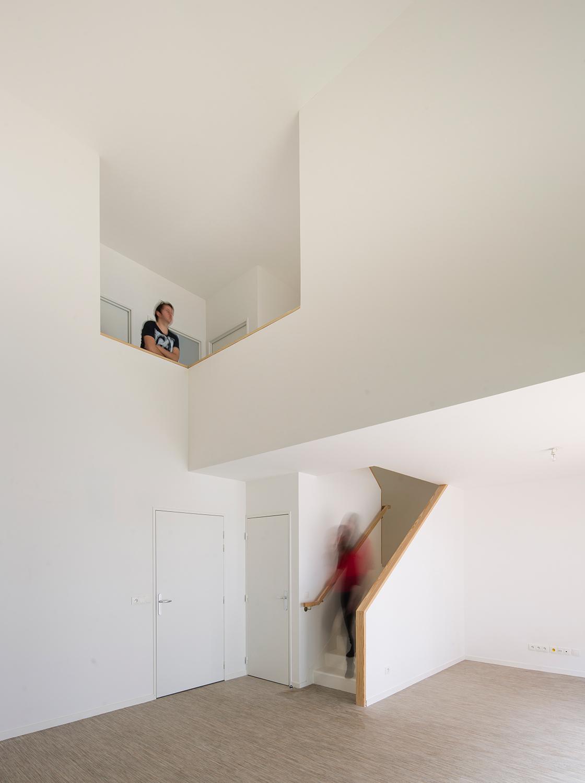 Interior of a duplex