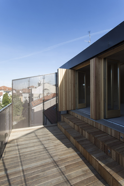 Terrazzo sul cortile