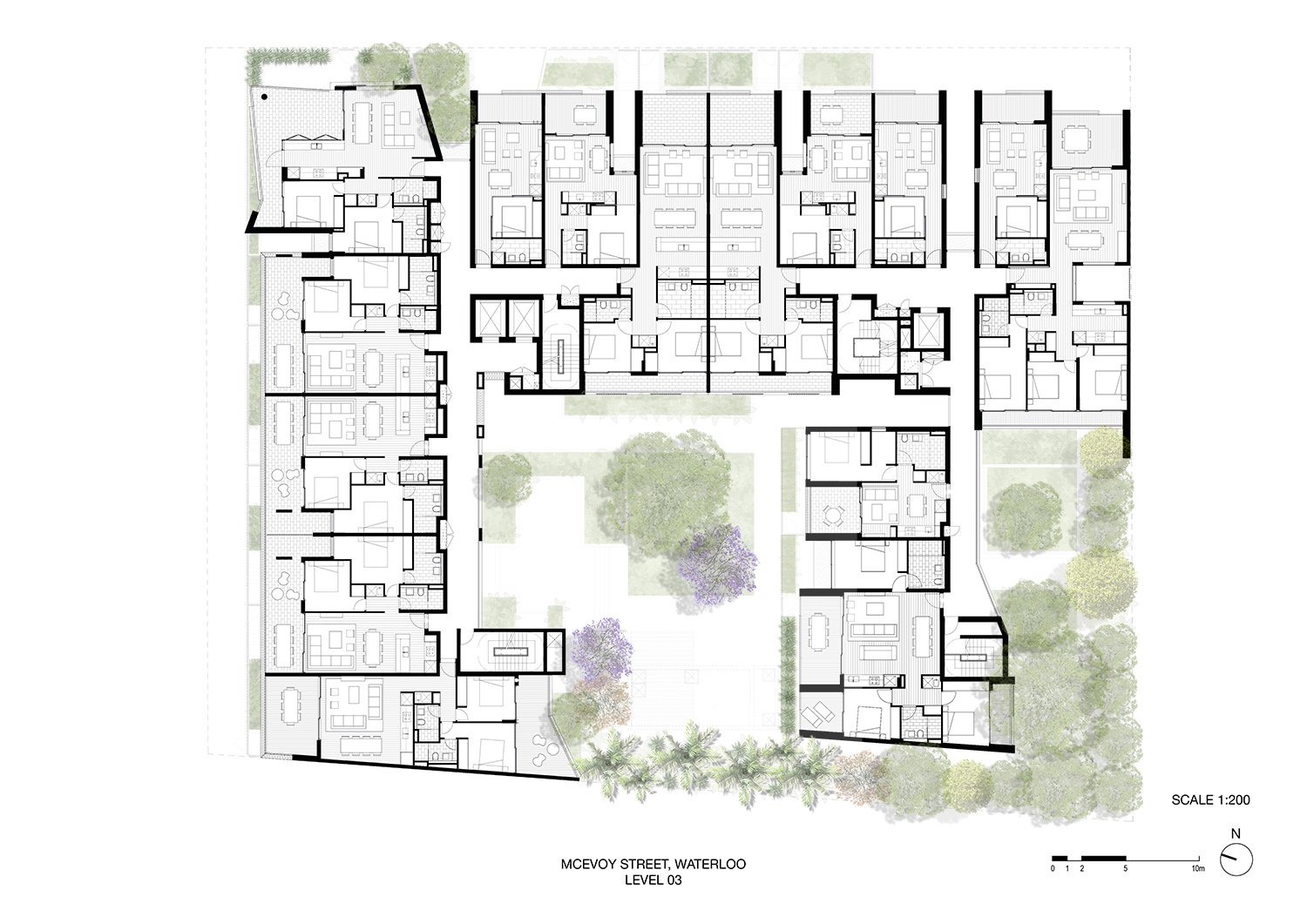 Level 3 - Typical Floor Plan Fox Johnton}
