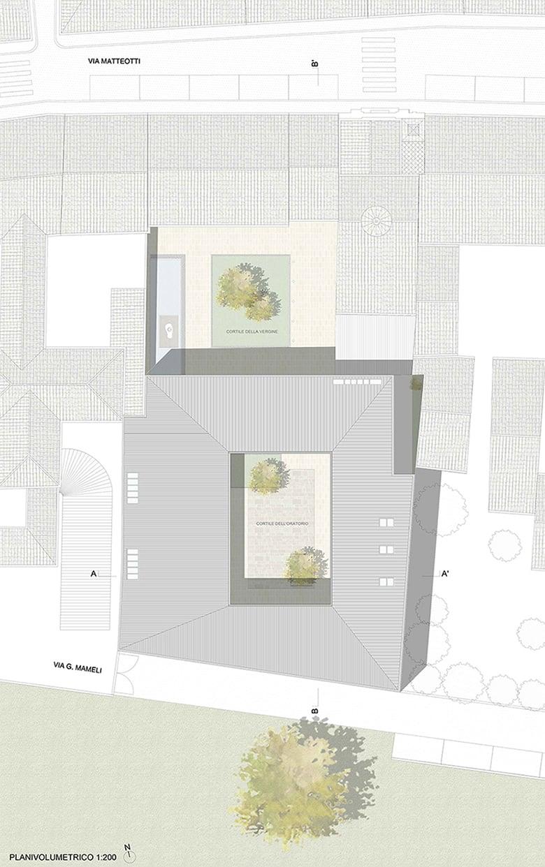 planivolumetrico © MAB Arquitectura}