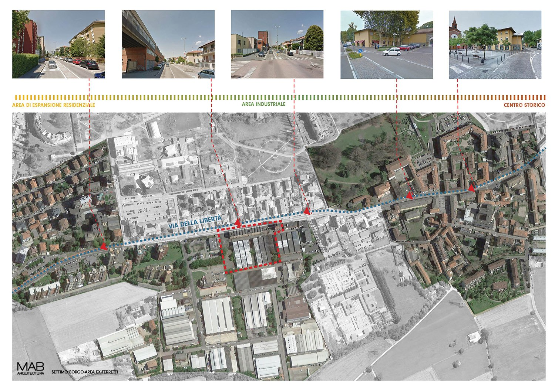 Schema urbano MAB arquitectura}