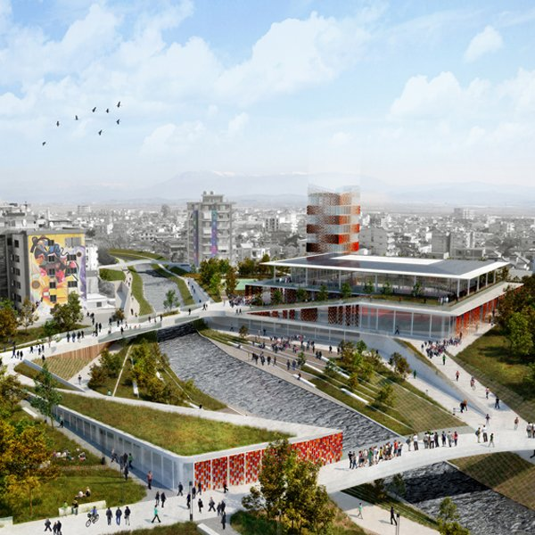 RI-GJANICA Urban and landscape regeneration of Fier's city centre