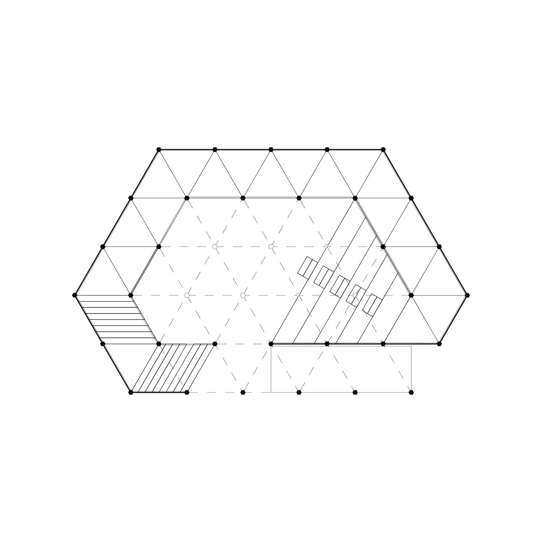 Mextropoli Floor plan Dellekamp Arquitectos}