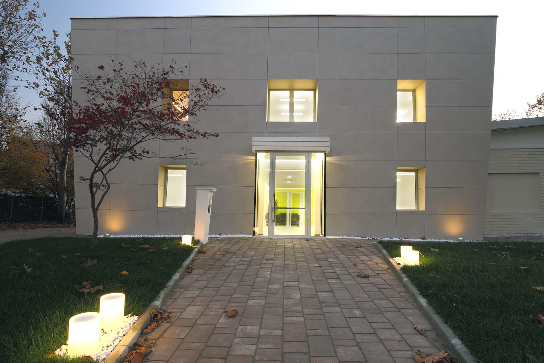 Vista esterna dell'edificio Niko Boi