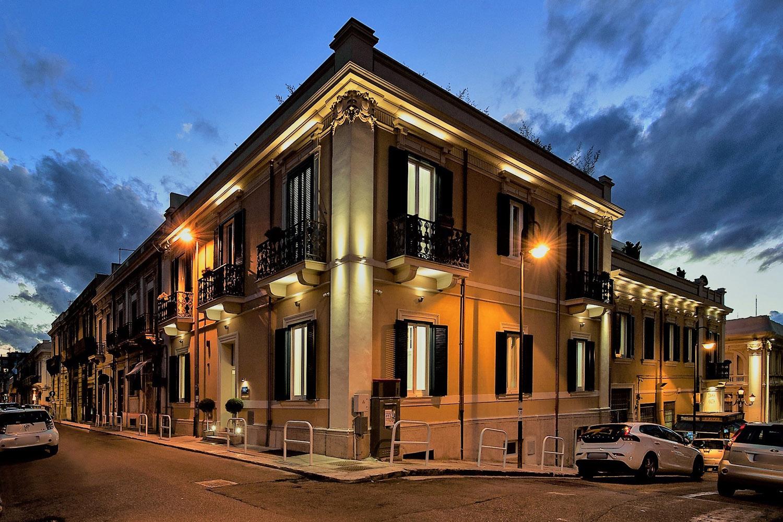 esterno via Tripepi nightshot Gianluca Milasi