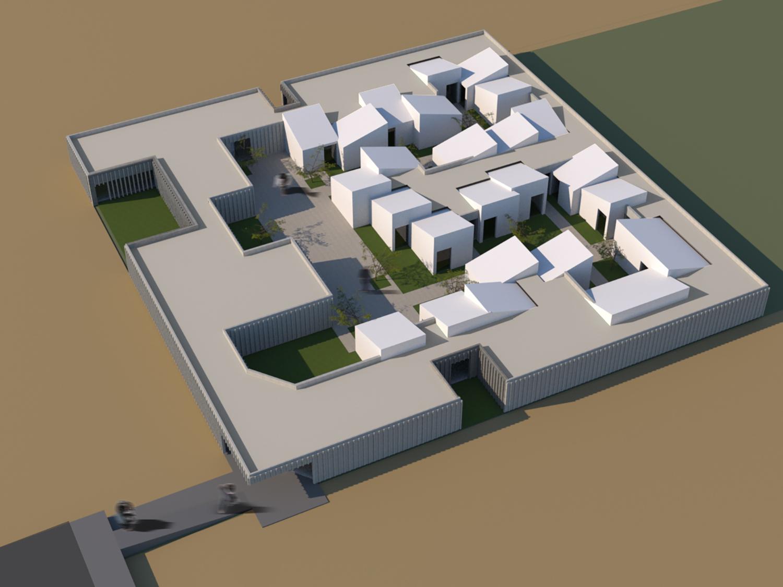 Virtual model Contextos de Arquitectura y Urbanismo}