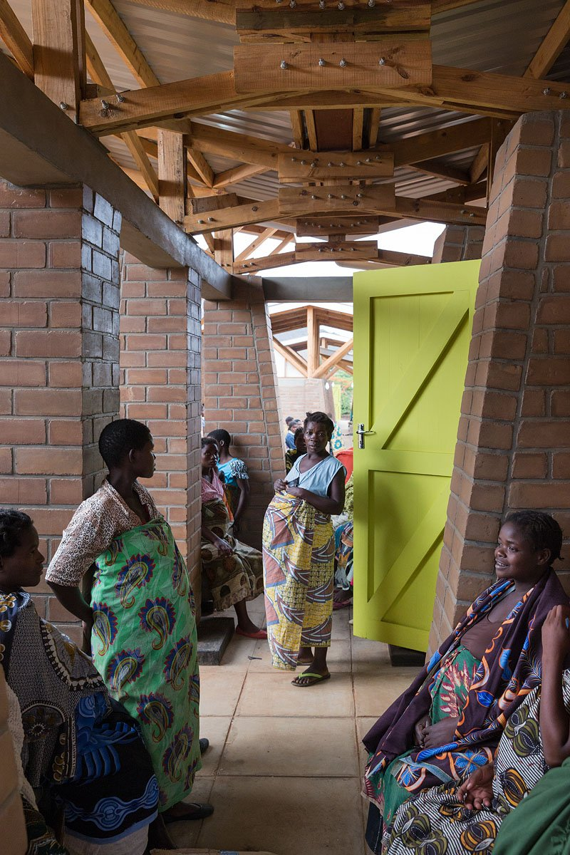 Maternity Waiting Village in use