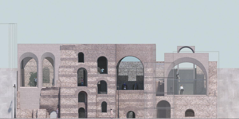 Front Façade TABANLIOGLU ARCHITECTS