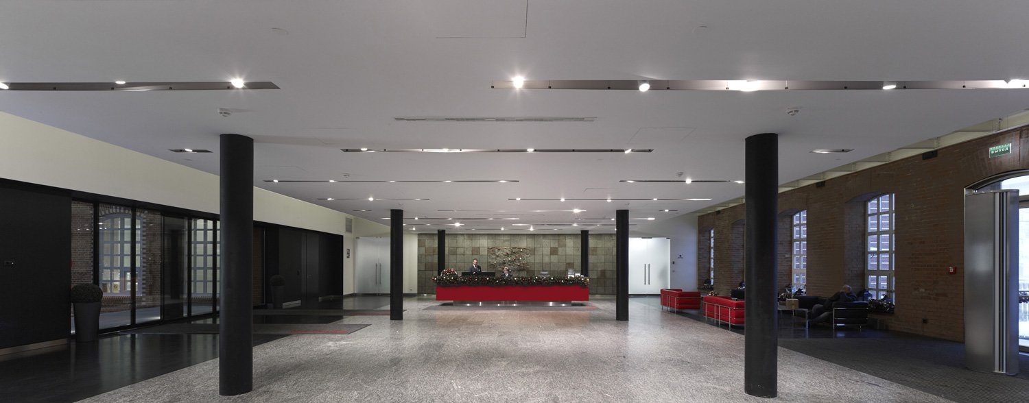 View of entrance lobby