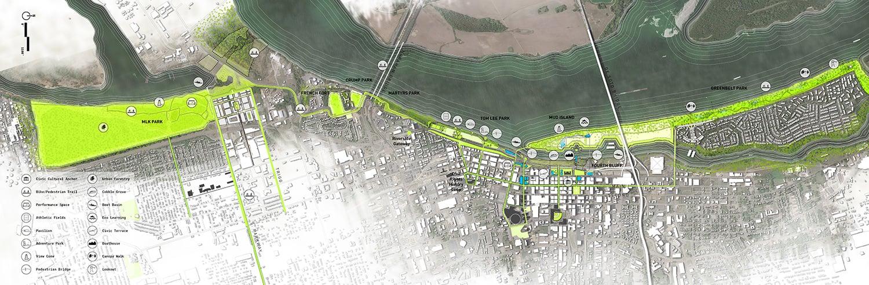 Memphis Riverfront Concept (c) Studio Gang
