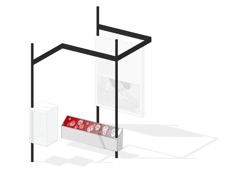 Module: Kiosk Schluderarchitektur with Tabanlioglu Architects}