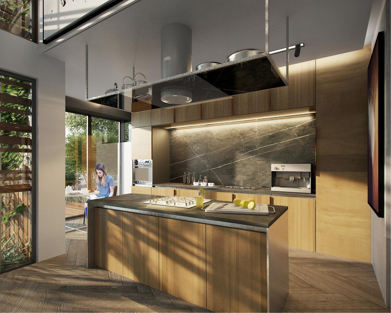 Kitchen  Beyaz Atolye Arcitecture