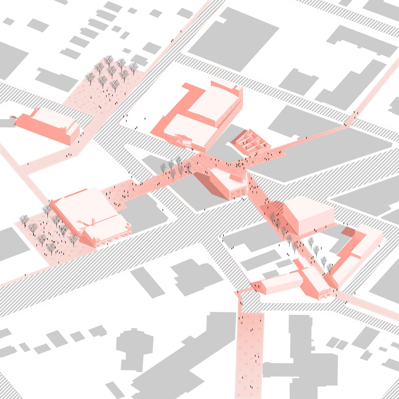NW Detroit © Lorcan O'Herlihy Architects [LOHA] }