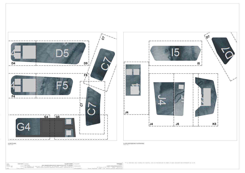 Neolith® RCR Watercolour, Blueprint }