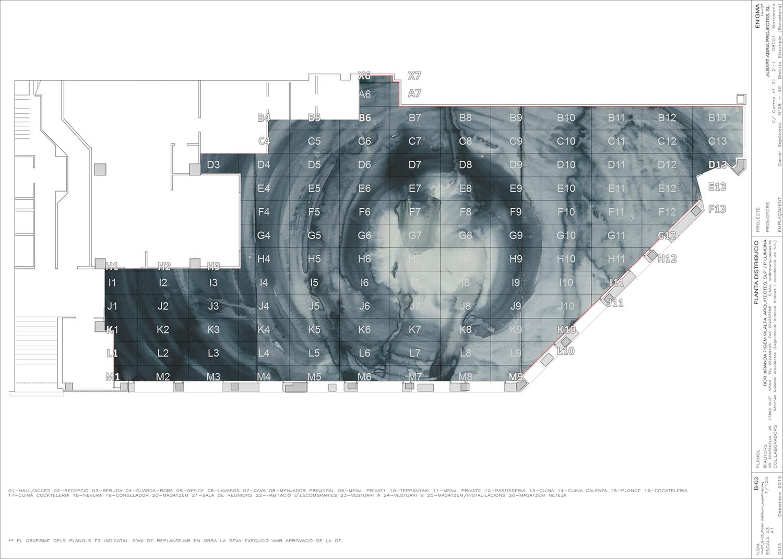 Neolith® RCR Watercolour, Plan }