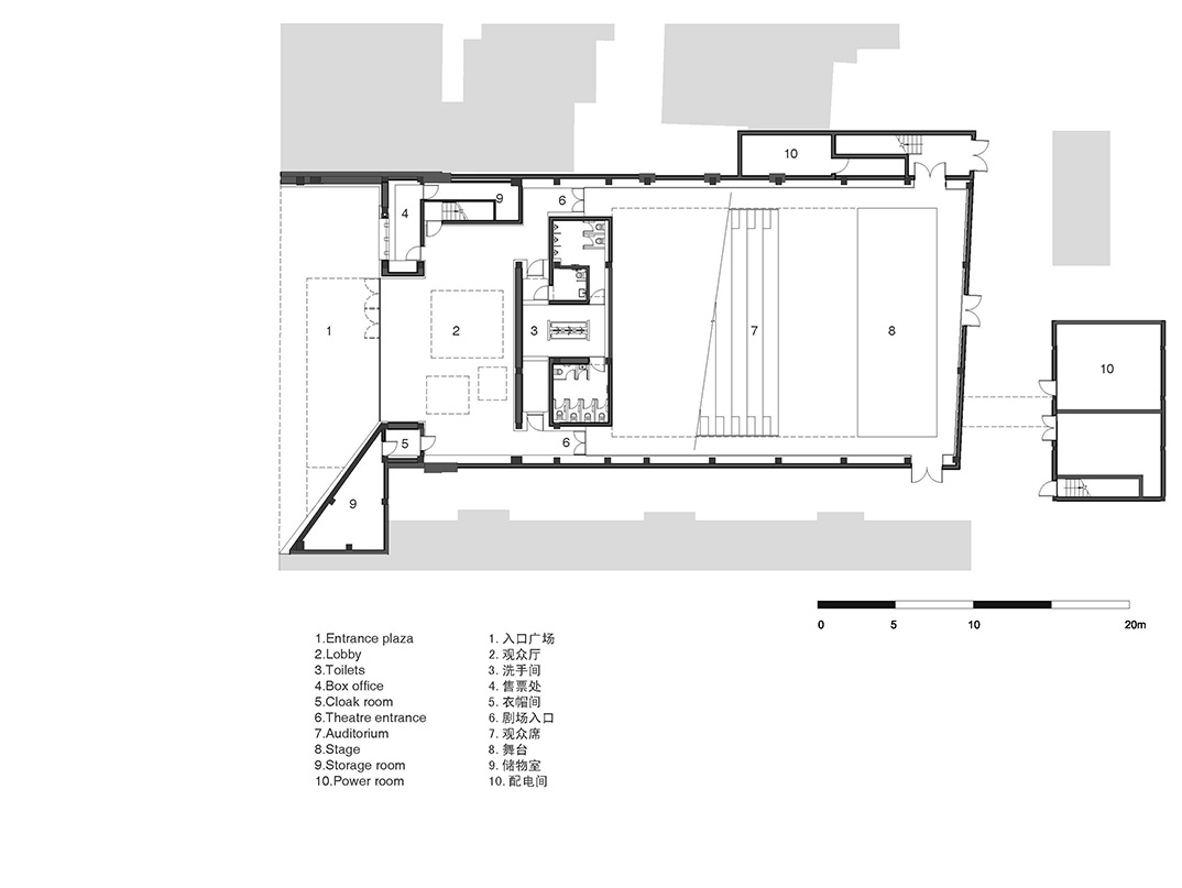 Nerihu Design And Research Office New Shanghai Theatre Lighting Diagram Show Captions