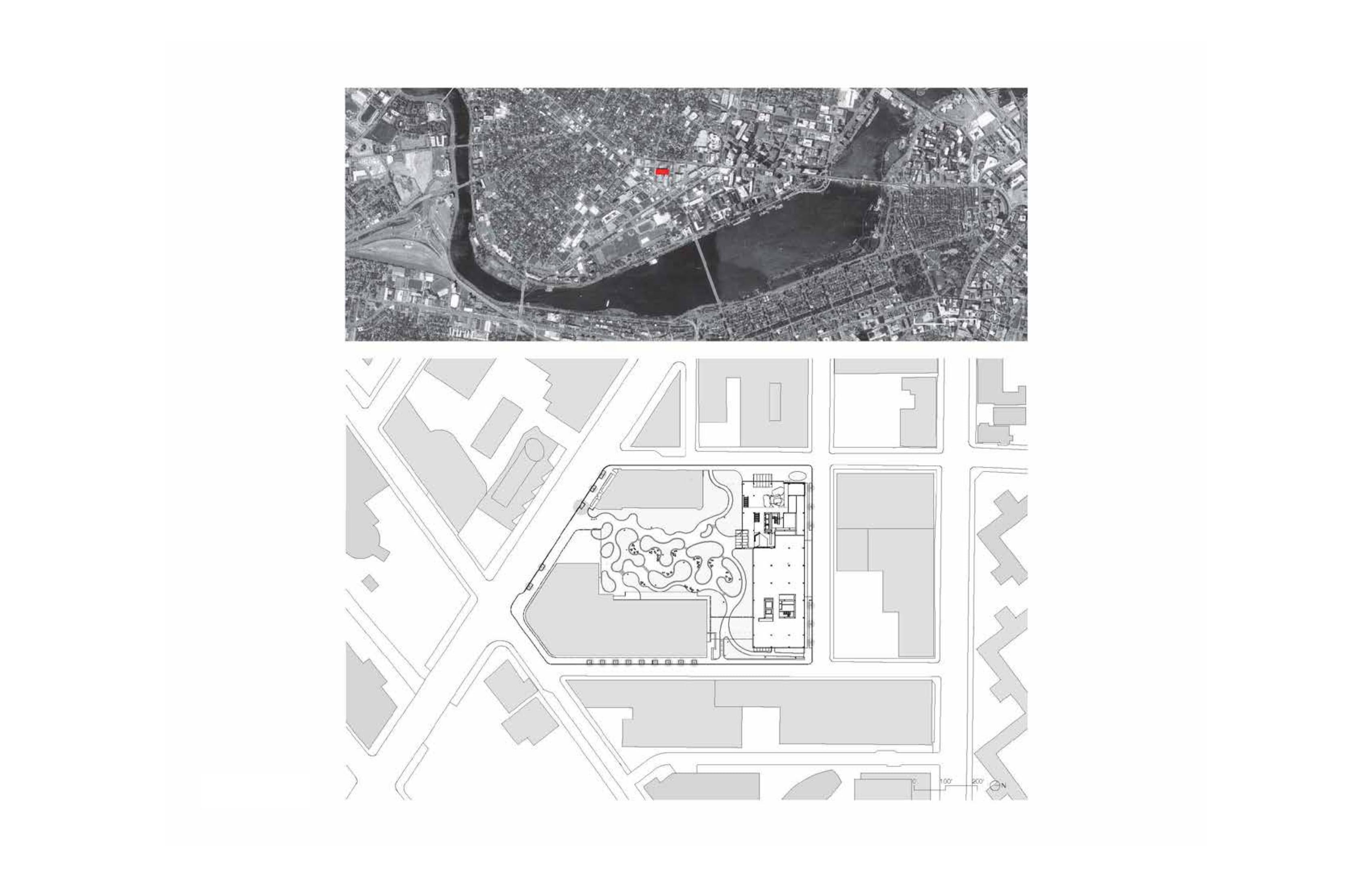 Site plan Toshiko Mori Architect}