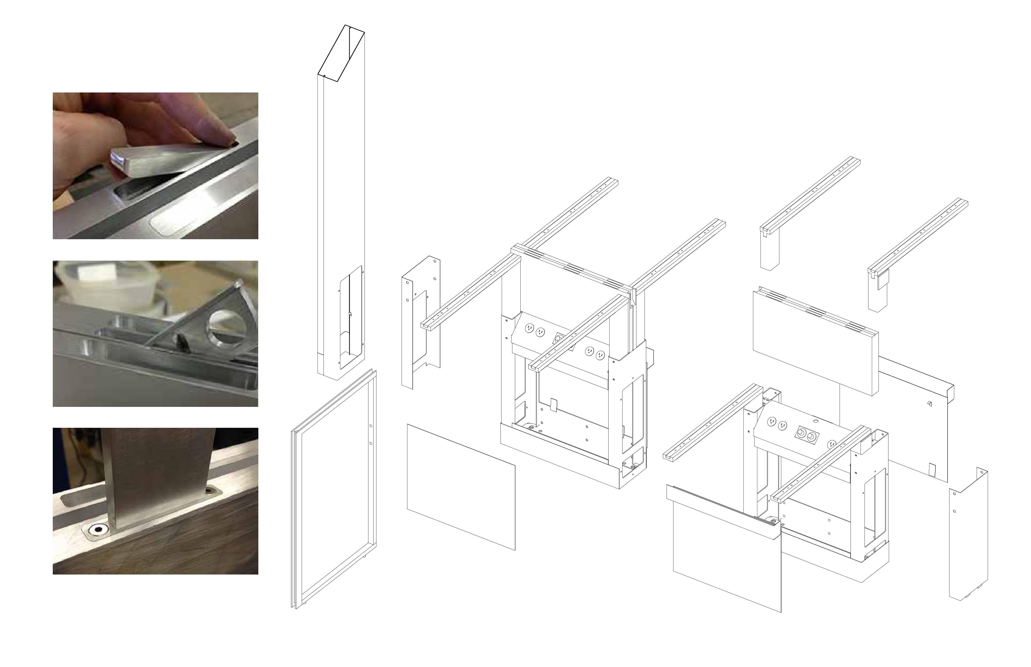 Infrastructure of modular utility spine Toshiko Mori Architect}